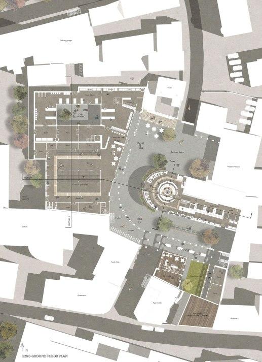 Ground Floor Plan 1:200
