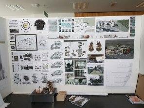 Examination Wall Board