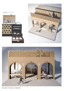 """""""The Arch as Threshold"""" 1:20 Model"""