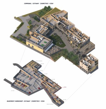 Lower storeys isometric