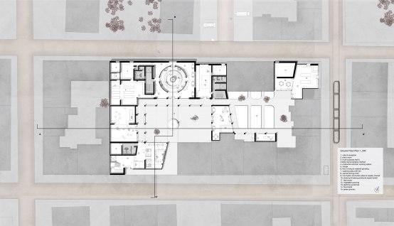 1:200 ground floor plan