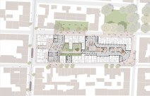 The Ad-Hoc Embassy's urban infill plan
