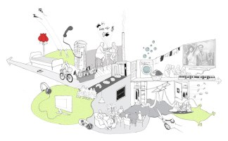 The project vision - a hybrid programme of high street and civic functions